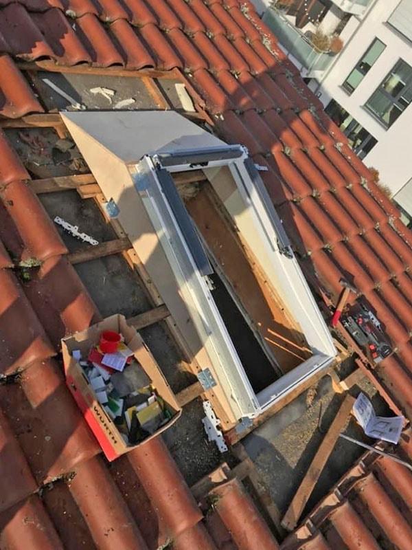Montage Dachfenster Bauelemente Zachmann